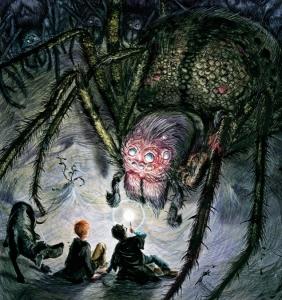 aragog-chamber-of-secrets-illustrated-edition